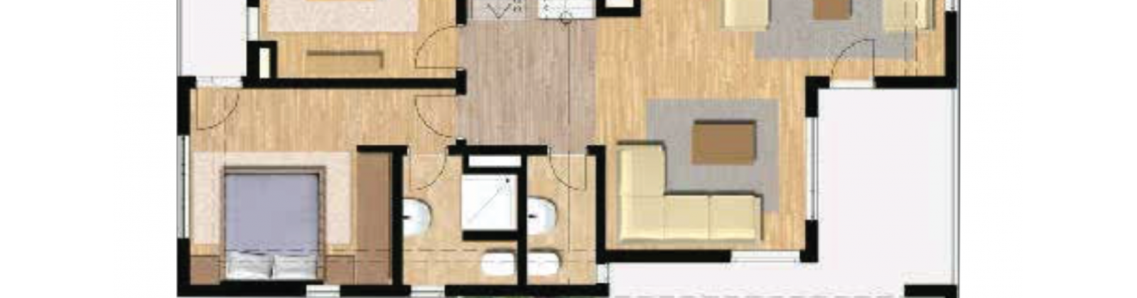 Semi-Detached-1st Floor